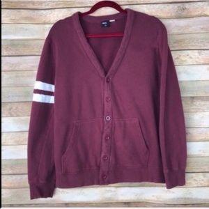 BDG Button Front Cardigan Sweater Medium C-85